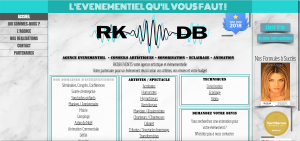 Site vitrine Rkdb Events