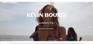 Site web artiste Kévin Bourgey