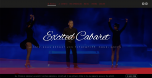 Site Web Artiste Excited Cabaret